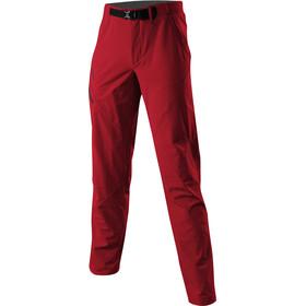 Löffler Comfort Stretch Light Pantalon de trekking Homme, maroon